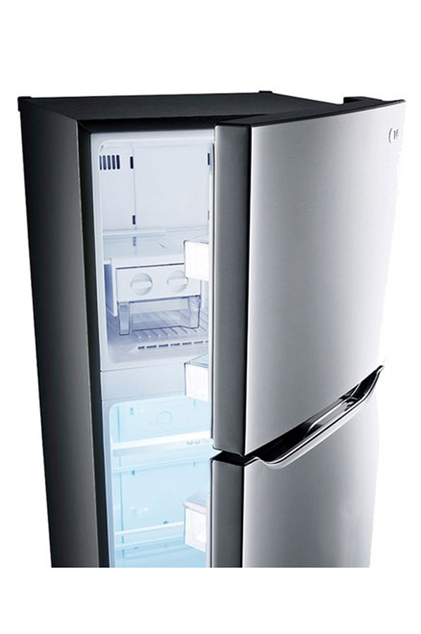 refrigerateur congelateur en haut lg gr5511ps inox 4004019 darty. Black Bedroom Furniture Sets. Home Design Ideas