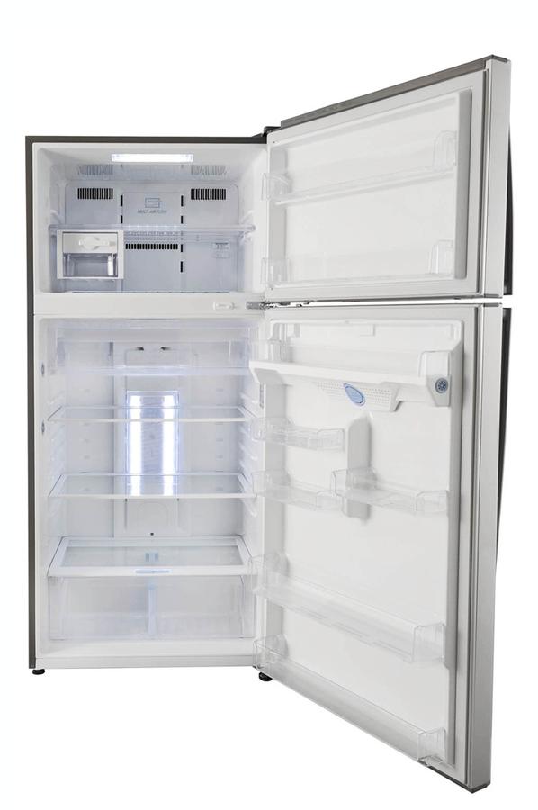 refrigerateur congelateur en haut lg grd 7814ns 3611817. Black Bedroom Furniture Sets. Home Design Ideas