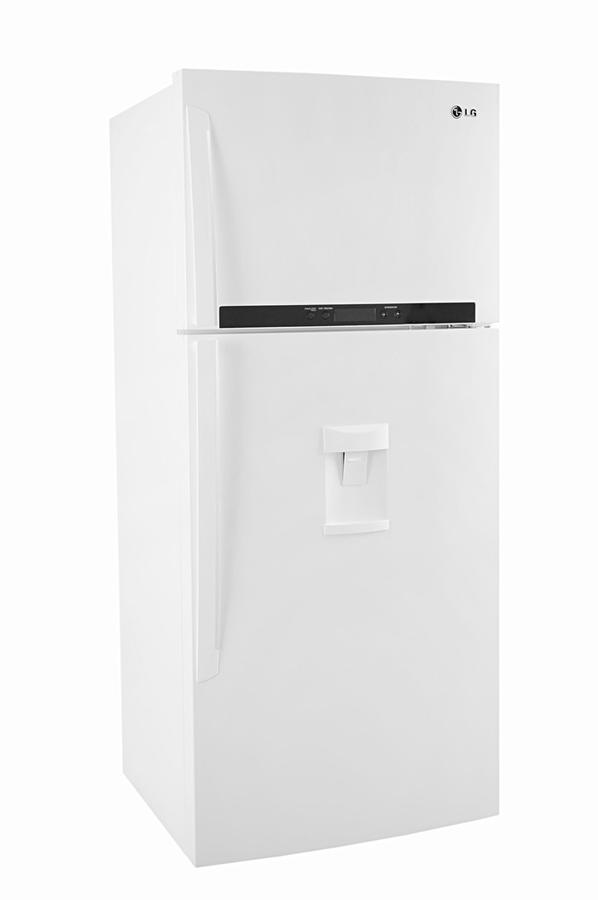 Refrigerateur congelateur en haut lg grf 7815wh 3598713 darty - Refrigerateur congelateur en haut ...