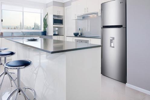 cuisine avec frigo americain maison design. Black Bedroom Furniture Sets. Home Design Ideas