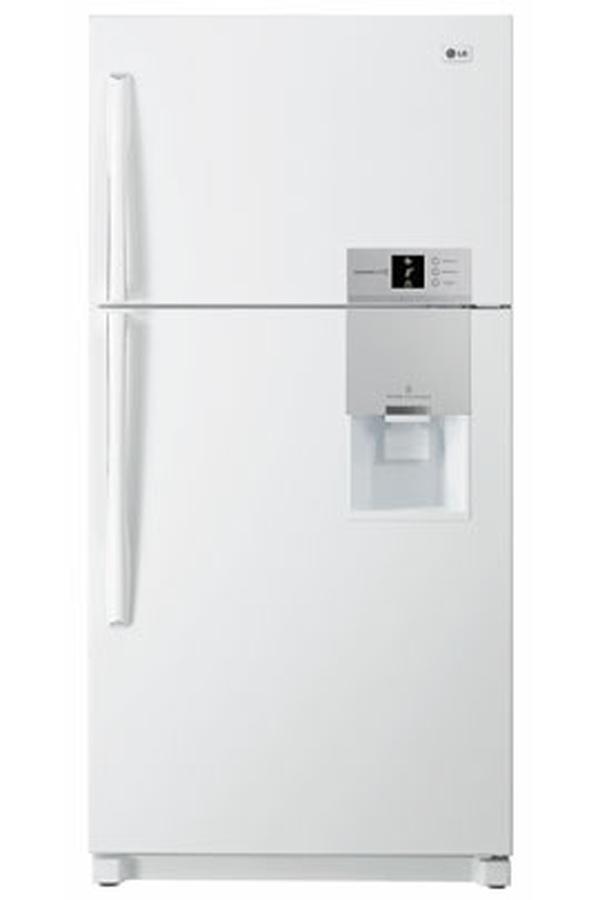refrigerateur congelateur en haut lg grf 8620wh 3275965. Black Bedroom Furniture Sets. Home Design Ideas