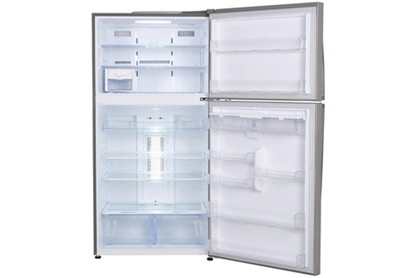 refrigerateur congelateur en haut lg grf 8636ac 3598683. Black Bedroom Furniture Sets. Home Design Ideas
