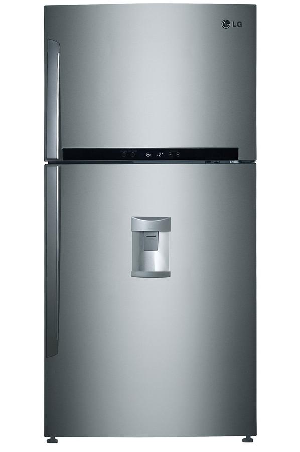 Refrigerateur congelateur en haut lg grf8648sc 4016378 darty - Refrigerateur congelateur en haut ...