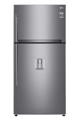 Volume 592 L - Dimensions HxLxP : 184 x 86 x 73 cm - A++ Réfrigérateur à froid ventilé 418 L Congélateur à froid ventilé 174 L Distributeur d'eau avec réservoir