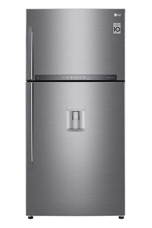 refrigerateur congelateur en haut lg gtf8659ps darty. Black Bedroom Furniture Sets. Home Design Ideas
