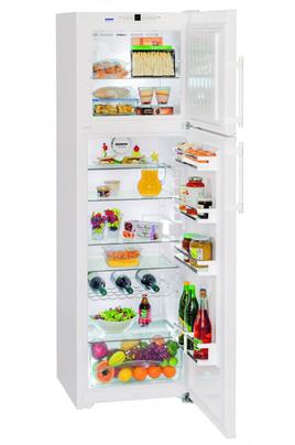 Réfrigerateur congélateur en haut - NoFrost Premium - 306 Litres Dimensions : 191,1x60x63 Réfrigirateur à froid braissé - 246 L Congélateur à froid ventilé - 60 L