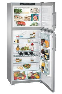 refrigerateur congelateur en haut liebherr ctnes 4753 2 15j inox ctnes 4753 2 inox 1584669. Black Bedroom Furniture Sets. Home Design Ideas