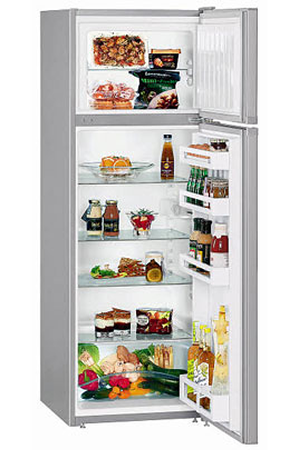 refrigerateur congelateur en haut liebherr ctpsl250 silver darty. Black Bedroom Furniture Sets. Home Design Ideas
