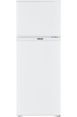 Volume 138 L - Dimensions HxLxP : 128x48x51 cm - A+ Réfrigérateur à froid statique 103 L Congélateur à froid statique 35 L 2 clayettes en verre - bac à légumes