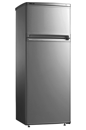 refrigerateur congelateur en haut proline dd 221 silver. Black Bedroom Furniture Sets. Home Design Ideas