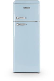 Refrigerateur congelateur en haut Schneider SCDD208VBL