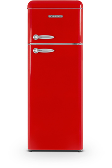 Refrigerateur congelateur en haut Schneider SCDD208VR