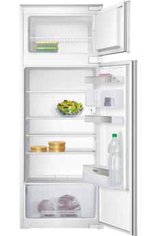 Volume total net : 229 L - Dimensions : 144.6 x 54.1 x 54.5 cm - A++ Réfrigérateur à froid statique - 188 litres Congélateur à froid statique : 41 litres - Super-congélation (arrêt automatique) Eclairage LED