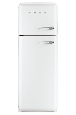 """Volume net du réfrigérateur 229 litres Volume net du congélateur 64 litres Réf : Air brassé / Congélateur : Statique Style Rétro """"Années 50"""" - Classe A++"""