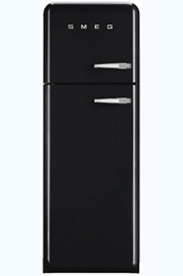 refrigerateur congelateur en haut smeg fab30lne1 3757650. Black Bedroom Furniture Sets. Home Design Ideas