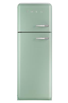 """Volume net du réfrigérateur 229 litres Volume net du congélateur 64 litres Réf : Air brassé / Congélateur : Statique Style Rétro """"Années 50"""""""