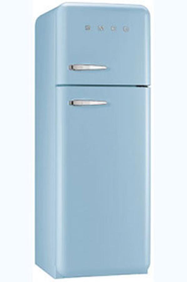 refrigerateur congelateur en haut smeg fab30raz1 3757560 darty. Black Bedroom Furniture Sets. Home Design Ideas
