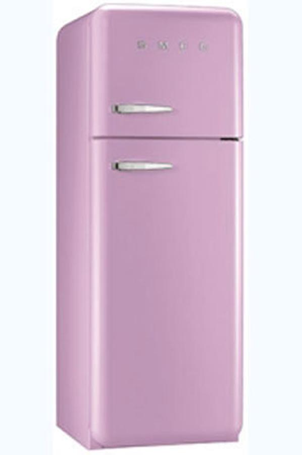 refrigerateur congelateur en haut smeg fab30rr01 3757609. Black Bedroom Furniture Sets. Home Design Ideas