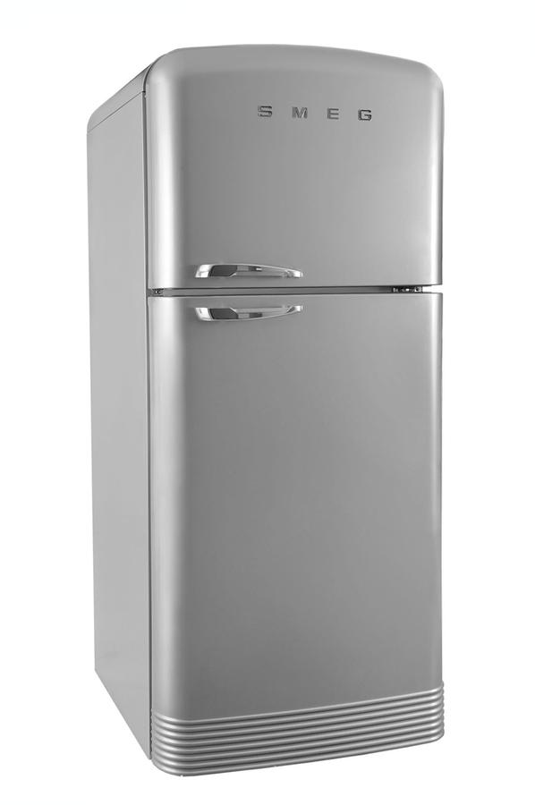 refrigerateur congelateur en haut smeg fab50x silver 3598837 darty. Black Bedroom Furniture Sets. Home Design Ideas