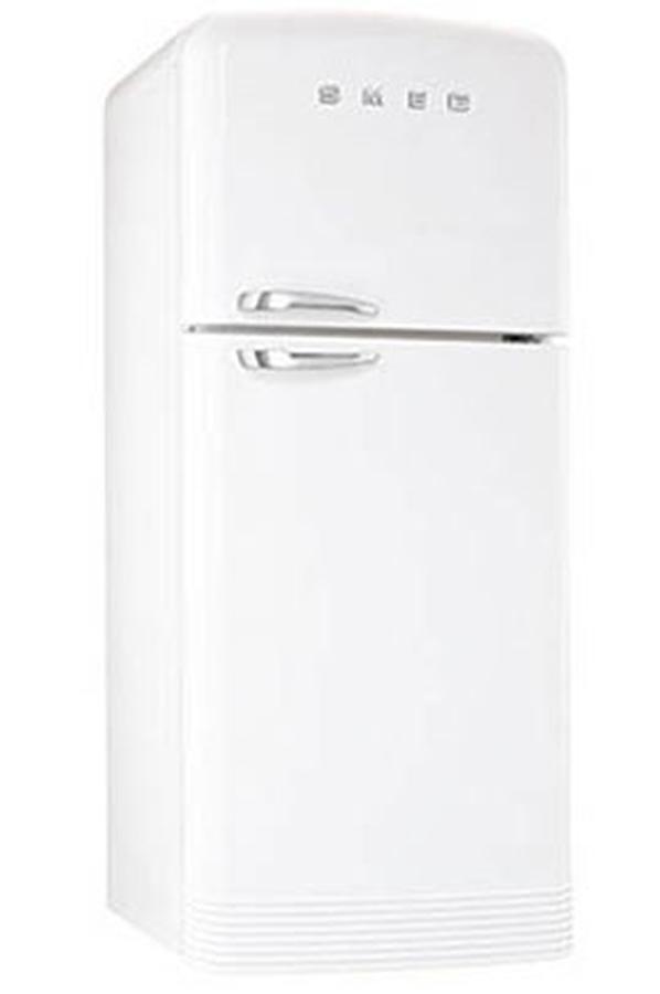 refrigerateur congelateur en haut smeg fab 50 bs 3636283. Black Bedroom Furniture Sets. Home Design Ideas