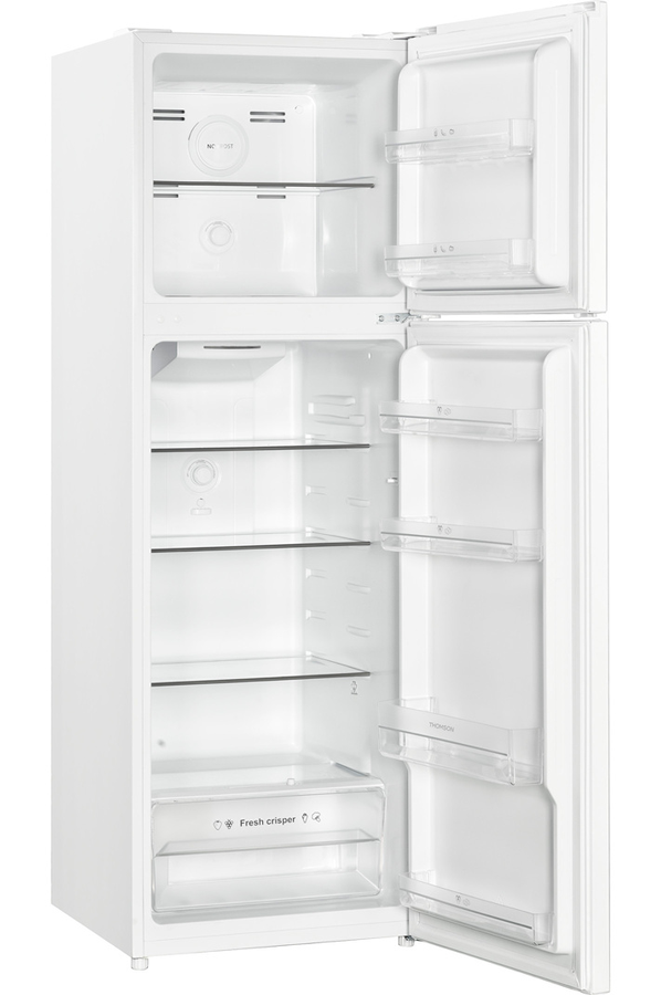 refrigerateur congelateur en haut thomson thd252nfwh darty. Black Bedroom Furniture Sets. Home Design Ideas