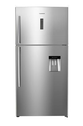 Volume 545 L - Dimensions HxLxP : 180.6x86x73.5 cm - A+ Réfrigérateur à froid ventilé 405 L Congélateur à froid ventilé 140 L Finition inox - Grande capacité