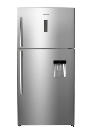 refrigerateur congelateur en haut thomson thd 545 ss darty. Black Bedroom Furniture Sets. Home Design Ideas