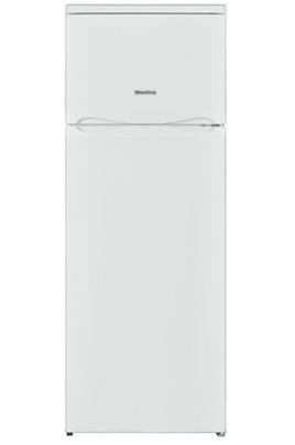 Volume 213 L - Dimensions HxLxP : 144x54x57,5 cm - A+ Réfrigérateur à froid statique 171 L Congélateur à froid statique 42 L Faible encombrement