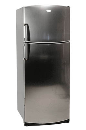 refrigerateur congelateur en haut whirlpool arc 4130 ix inox arc4130 inox darty. Black Bedroom Furniture Sets. Home Design Ideas