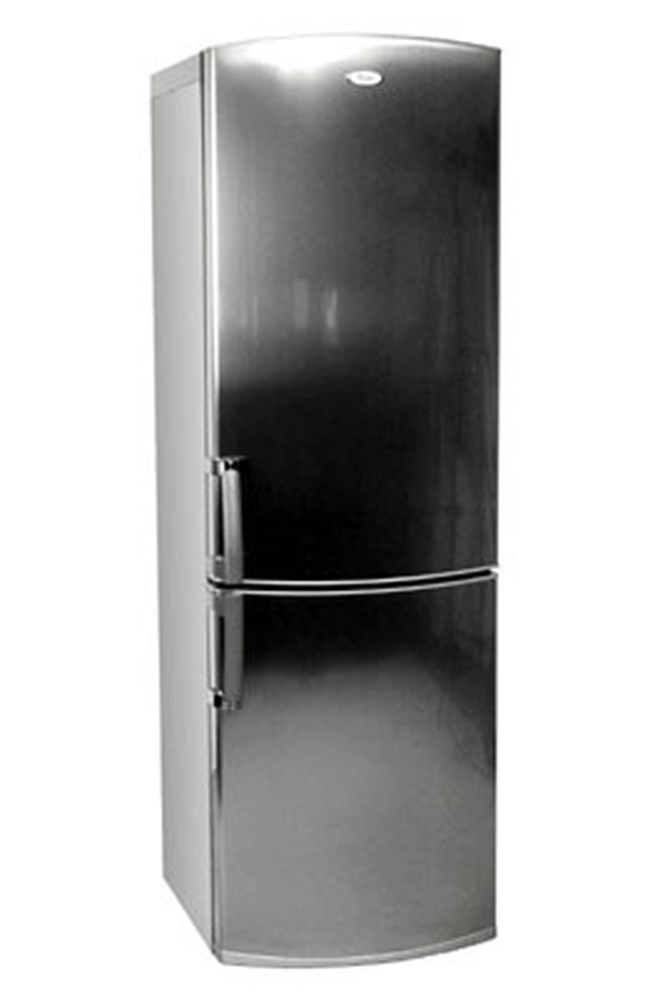 frigo congelateur whirlpool inox. Black Bedroom Furniture Sets. Home Design Ideas