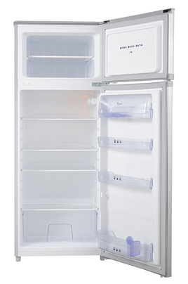 refrigerateur congelateur en haut whirlpool wte 2215x inox 3738140. Black Bedroom Furniture Sets. Home Design Ideas