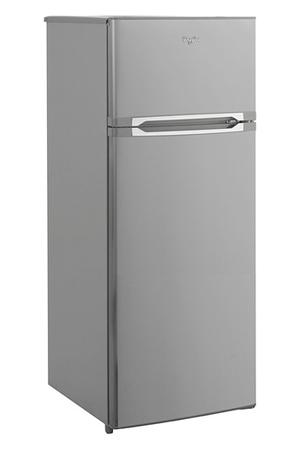 refrigerateur congelateur en haut whirlpool wte 2215x inox darty. Black Bedroom Furniture Sets. Home Design Ideas