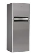 Refrigerateur congelateur en haut Whirlpool WTV4536NFCIX INOX