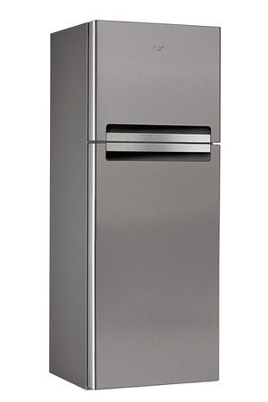 refrigerateur congelateur en haut whirlpool wtv4536nfcix inox   darty