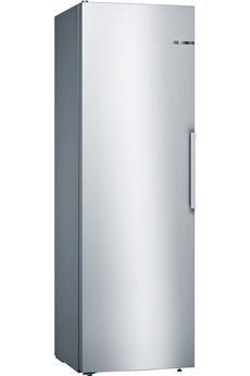 Volume 346 L - Dimensions HxLxP : 186x60x65 cm - A+++ Froid brassé - Tout utile (sans congélateur) Contrôle électronique avec affichage LED Eclairage LED - FreshSense