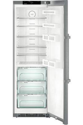 Volume total 367 litres - Dimensions : 185 x 60 x 66.5 cm - A+++ Froid brassé - Tout utile Eclairage LED - Contrôle électronique avec affichage digital tactile Technologie BluPerformance