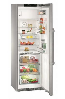 Volume 338 litres - Dimensions : 185 x 60 x 66.5 cm - A+++ Réfrigérateur à froid brassé - 314 litres Congélateur à froid statique - 24 litres Ecran tactile