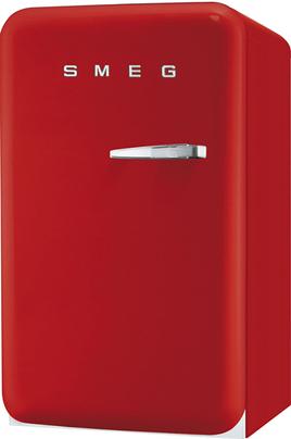 """Volume 114 L - Dimensions HxLxP : 96x54.3x68 cm - A+ Réfrigérateur à froid statique 101 L Congélateur à froid statique 13 L Design rétro """"Années 50"""" - Charnières à gauche"""