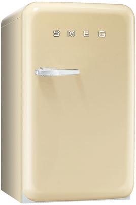 Volume 130 L - Dimensions HxLxP : 96x55x68 cm - A+ Réfrigérateur à froid statique 130 L Tout utile (sans congélateur) Design rétro années 50 - Charnières à droite