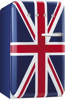 Volume 114 L - Dimensions HxLxP : 96x54.3x68 cm - A+ Réfrigérateur à froid statique 101 L Congélateur à froid statique 13 L Drapeau Union Jack