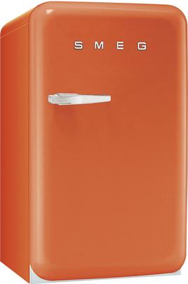 """Volume 114 L - Dimensions HxLxP : 96x54.3x68 cm - A+ Réfrigérateur à froid statique 101 L Congélateur 4* à froid statique 13 L Style rétro """"Années 50"""""""