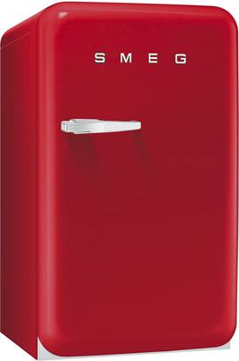 """Volume 114 L - Dimensions HxLxP : 96x54.3x68 cm - A+ Réfrigérateur à froid staitque 101 L Congélateur à froid statique 13 L Design rétro """"Années 50"""" - Charnières à droite"""