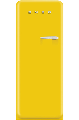 """Volume 240 L - Dimensions HxLxP : 151x60x72 cm - A++ Réfrigérateur à froid brassé 222 L Congélateur à froid statique 18 L Design Rétro """"style années 50"""" - Charnières à gauches"""