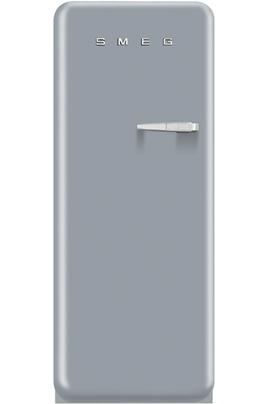 """Volume 248 L - Dimensions HxLxP : 151x60x72 cm -A++ Réfrigérateur à froid brassé 222 L Congélateur à froid statique 26 L Design rétro """"Années 50"""" - Charnières à gauche"""