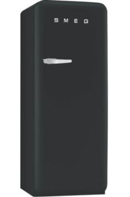 Volume 248 L - Dimensions HxLxP : 151x60x68.2 cm - A++ Réfrigérateur à froid brassé 222 L Compartiment congélateur 26 L Design rétro années 50 - Charnières à droite