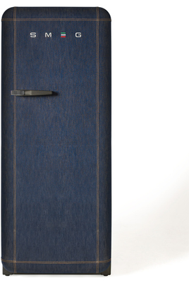 """Volume 240 L - Dimensions HxLxP : 151x60x73.2 cm - A++ Réfrigérateur à froid brassé 222 L Congélateur à froid statique 18 L Design Rétro """"style années 50"""" - Charnières à droite"""