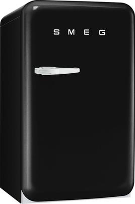 """Volume 114 L - Dimensions HxLxP : 96x54.3x68 cm - A+ Réfrigérateur à froid statique 101 L Congélateur à froid statique 13 L Style rétro """"Années 50"""" - Charnières à droite"""