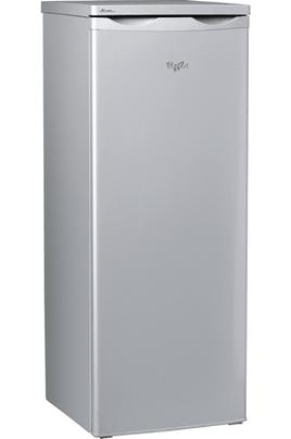 Volume 223 L - Dimensions HxLxP : 143x55x60.5 cm - A+ Réfrigérateur à froid bassé de 208 litres Congélateur 4 étoiles à froid statique de 15 litres Faible encombrement - Finition Silver