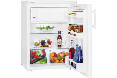 Volume 143 L - Dimensions HxLxP: 85x60,1x62,8 cm - A+++ Réfrigérateur à froid statique 125 L Congélateur à froid statique 18 L Top amovible