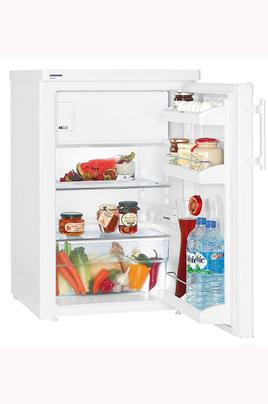 Volume 122 L - Dimensions HxLxP : 85x55,4x62,3 cm - A+++ Réfrigérateur à froid statique 108 L Compartiment congélateur 14 L Ultra basse consommation